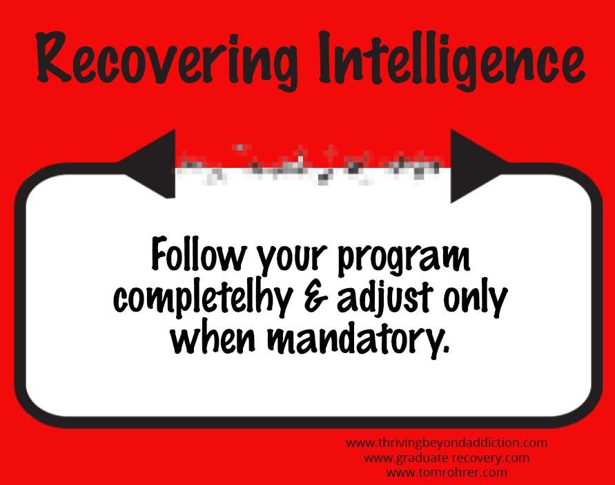 follow a program