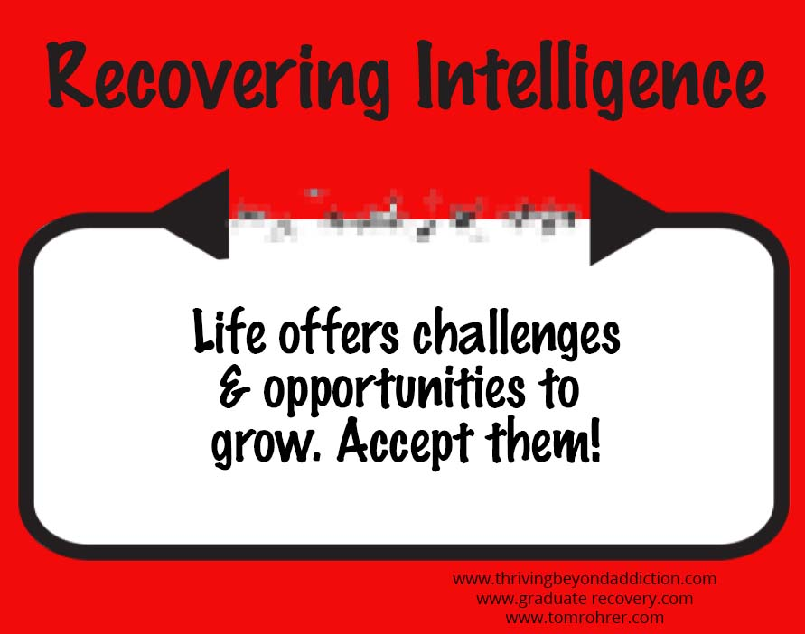 life offers challenges